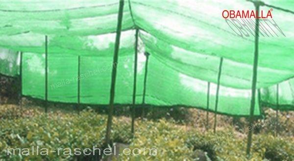 protección de cultivos con malla para sombreo OBAMALLA